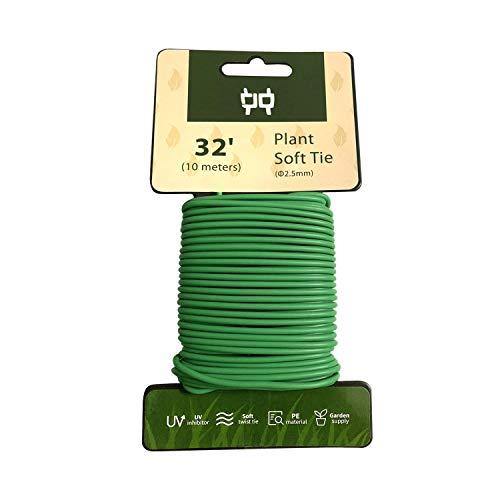 Fil de fer souple très résistant 2,5 mm pour support de plantes de jardin, 10 m