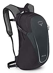 An Osprey day pack model which makes for a great camping gift idea.