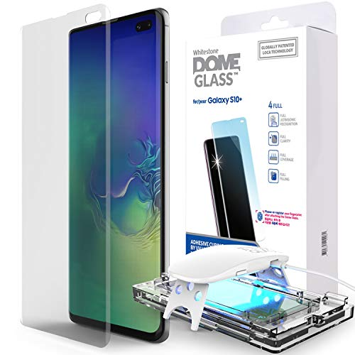 Whitestone Dome Glass - Best Galaxy S10 Plus Screen Protector