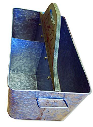 Metal Tool Box /Wooden Handle