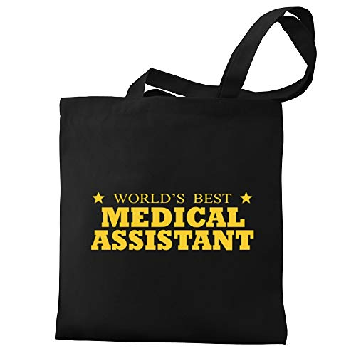 Eddany World's best Medical Assistant 2 stars Canvas Tote Bag