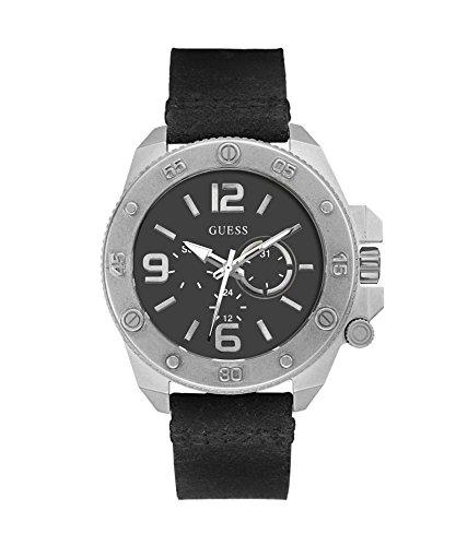 Guess - Hombres del Reloj de la CONJETURA Viper/Plata W0659G1