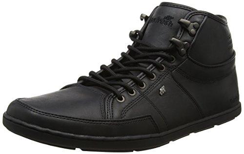 Boxfresh Herren Swapp 3 Hohe Sneaker, Schwarz (Schwarz), 42 EU (8 UK)