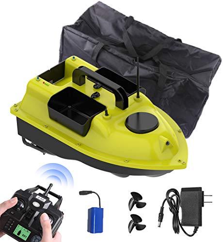 ZDSKSH Fish Finder 2Kg Caricamento 500M Remote Control Fishing Bait Boat RC Boat 2,4 GHz, Motoscafo Radiocomandato