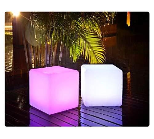 LED Würfel inkl. USB Lichtobjekt Leuchtwürfel Licht Garten Dekoration Cube Beleuchtung Marke PRECORN