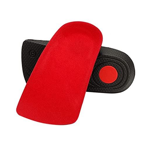 Almohadillas transpirables para zapatos de pie de apoyo con inserciones de tacón alto para uso diario para el cuidado personal de las mujeres para suavizar la piel dura (XL)
