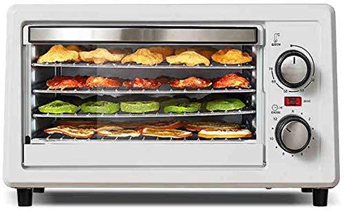 LLDKA Deshidratador de Alimentos, deshidratador de Alimentos 5 bandejas, desidrator con Temporizador (12H), deshidratador de Alimentos Adaptado para el hogar