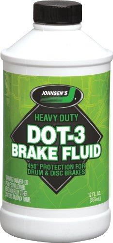 Johnsen's 2224 Premium DOT 3 Brake Fluid - 12 oz.
