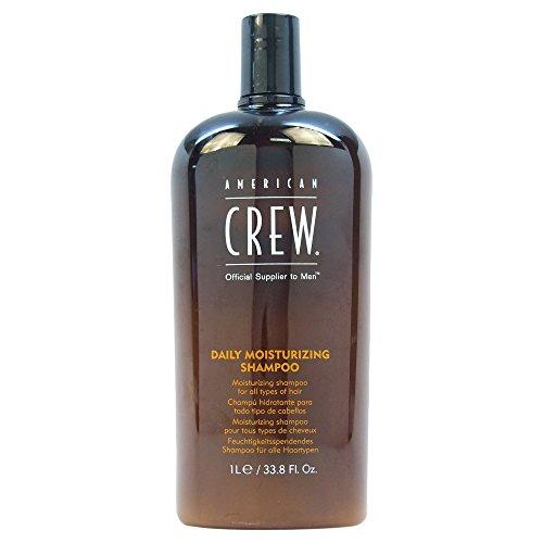American Crew Shampoo für tägliche Feuchtigskeitspflege, für Damen und Herren, 1000 ml