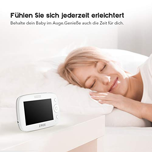 babyfone Handyhalter ZREE baby kamera halterung 360 Grad Babyphone Halter Universal verstellbar babykamerahalterung 85cm