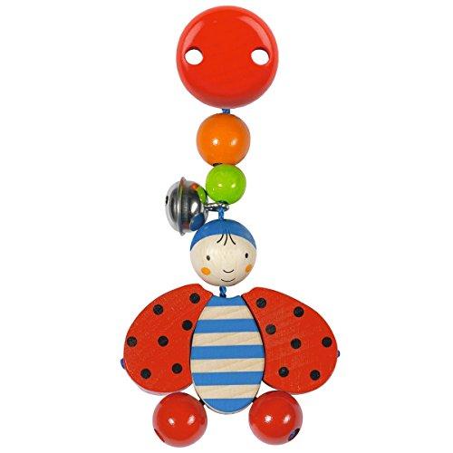 solini Le jouet à clipser Coccinelle, multicolore