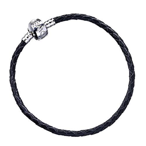 Producto oficial de negro de piel para pulsera - niño - pequeño