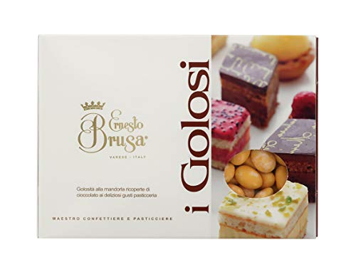 Ernesto Brusa confetti zoete amandelen + witte chocolade gearomatiseerd zout en karamel