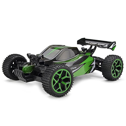 Cheerwing 4WD RC Car Off-Road Vehicle 1: 18 2.4Ghz High Speed Buggy Remote Control Racing Car Green