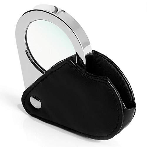 lupa Lente Antigua de HD portátil Plegable óptico óptico identificación de medición de Escala wenwan joyería Cilindro artesanía Talla y reparación