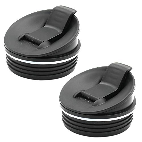 Replacement Parts Lids for 16oz Cups for Ninja Blender BL660 BL770 BL740 BL771 BL773CO QB3000/QB3000SSW/QB3004/QB3005 (2 Pack Sip & Seal Lids)
