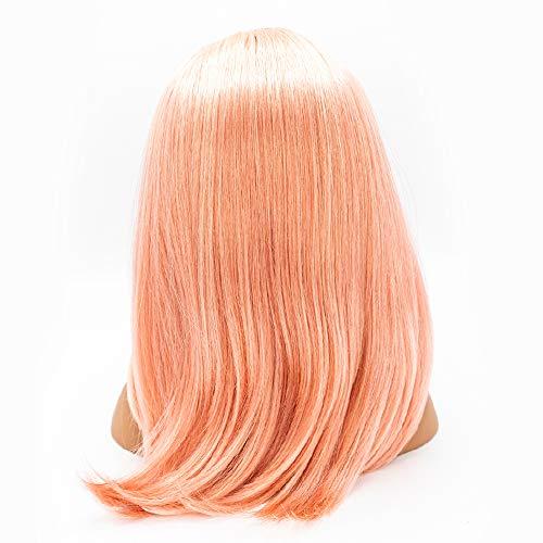 Ik ben een stylist licht roze blonde pruik