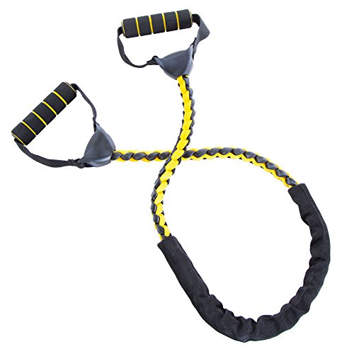 66FIT Tubo de Fitness Trenzado Profesional Seguro - Fitness Yoga Pilates