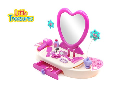 Little Treasures Quality Luxurious Dresser from Complete with Dresser, Mirror, Hair Styling Tools, P - http://coolthings.us