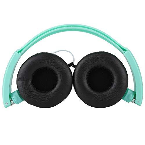 FOLOSAFENAR Modo FM Auriculares Auriculares con Cable Line-IN Entrada de Audio Externa Sonido estereoscópico Envolvente 3D, para Escuchar Bien, para Deportes