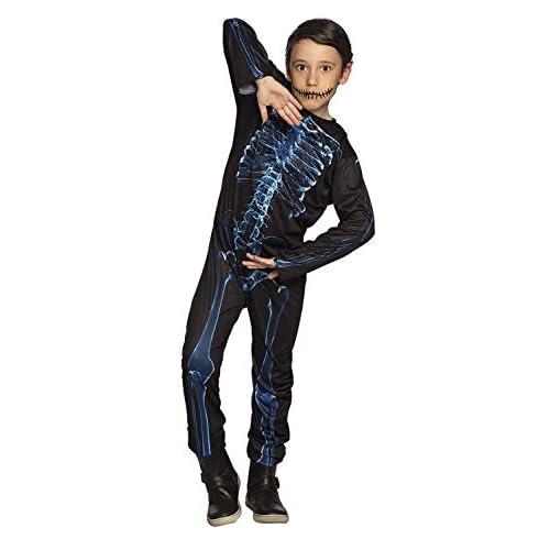 Boland 78130 - Costume di Carnevale, Motivo: Mr X-Ray, da 10 a 12 Anni, Colore: Blu/Nero