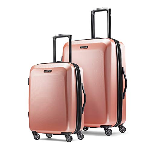 American Tourister Moonlight 2-Piece Hardside Spinner Travel Set, 21-inch, 24-inch, Two Pieces