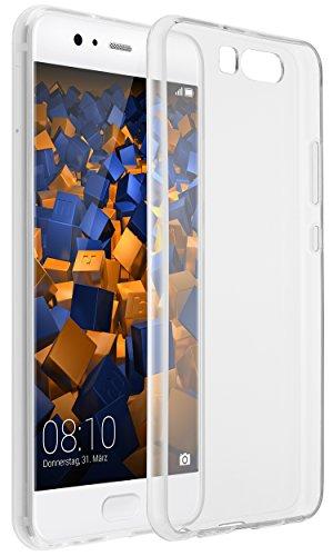 mumbi Hülle kompatibel mit Huawei P10 Handy Case Handyhülle dünn, transparent
