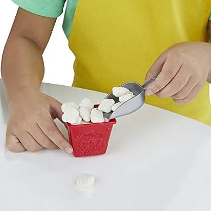 Play-Doh Popcornmaschine mit 6 Dosen Play-Doh Knete, ab 3 Jahren 6
