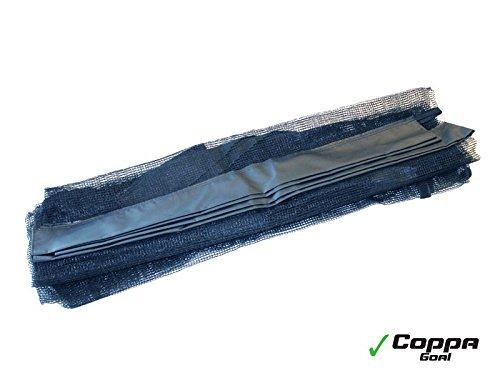 EXIT Netz für Coppa Fußballtor / Ersatznetz - Zubehör für das Coppa Fußballtor / Farbe: schwarz / UV-beständig / Lieferung OHNE Tor!