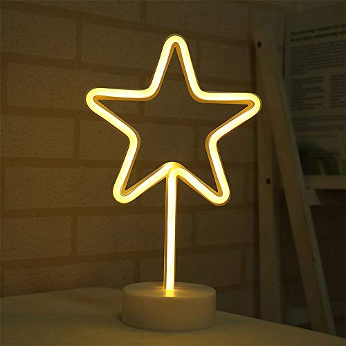 LED Neon Lights Signs Snowflake,USB or Battery Operated,Night Lights Lamps Art Decor,Wall Decoration Table Lights,Decorative for Home Party Bedroom Living Room Snowflake