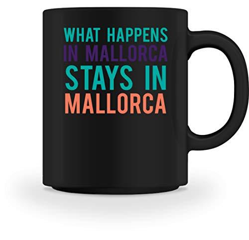 Algemeen What Happens In Mallorca Stays In Mallorca - eenvoudig en grappig design - mok