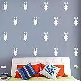 Adesivo murale con sfondo Onlymygod Cameretta per bambini Camera da letto TV con sfondo autoadesivo 40x47cm