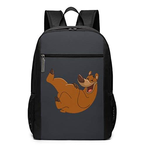 Laughter is The Best Medicine Backpack 17 Inch Large Laptop Backpack School Bookbag