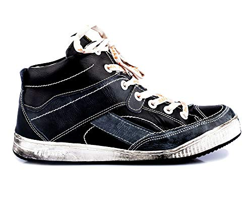 TMA 4141 Herren Knöchel Schuhe Schnürer Leder gefüttert schwarz alle Gr. 41-46 EUR 41