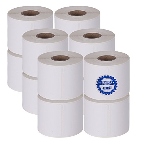 2 1/4in X 4in Name Badge Labels 250 Per Roll by Kenco Label, Compatible with Dymo 1760756 (1 Pack) (12 Pack)