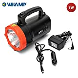 Velamp IR551LED Lampe Torche Portable Rechargeable LED 1W