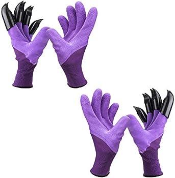 2-Pack Garden Genie Gloves with Claws