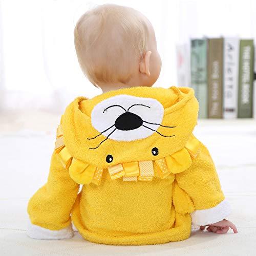 ETbotu Hooded Katoen Baby Badjas Ademend Droog Handdoek voor Jongens en Meisjes