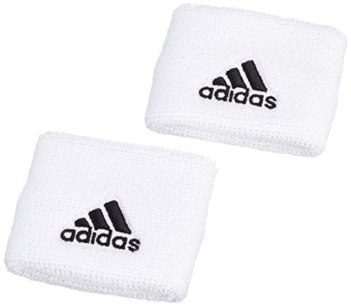 adidas S21998, Polsino Man (Tennis), Bianco (Bianco/Nero), S