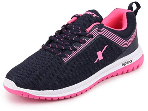 Sparx Women's N. Blue Pink Running Shoes-6 UK (39 1/3 EU) (SX0164L_NBPK0006)