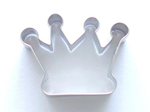 Staedter Emporte-pièce en Forme de Couronne - Argent, Acier Inoxydable, Silver, 4.5 cm