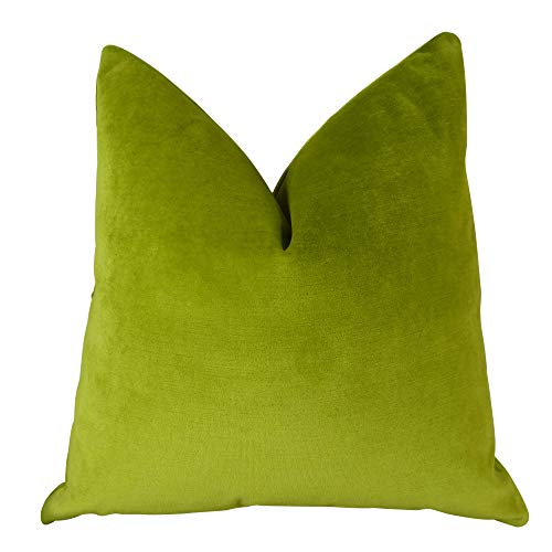 Learn More About Plutus Brands Plutus Contentment Grass Handmade Throw Pillow, 24 x 24, Green