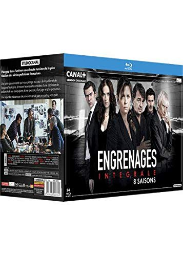 Engrenages-Intégrale 8 Saisons [Blu-Ray]