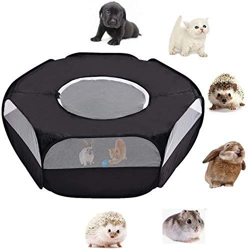 Jaulas para Animales Pequeños,Tienda de Jaulas de Corral para Mascotas para Conejillos de Indias, Conejos, Hámsters, Chinchillas y Erizos