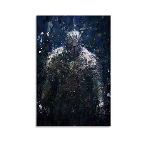 QWSDE Dark Souls Faraam - Poster decorativo con gioco astratto, su tela, decorazione da parete, per soggiorno, camera da letto, 30 x 45 cm