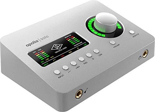 Universal Audio Apollo Solo Heritage Edition アナログ2イン/4アウト Thunderbolt 3 バスパワー駆動 レコ...