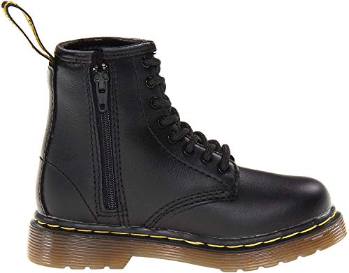 Dr. Martens BROOKLEE Softy T Unisex-Kinder Bootsschuhe, Black Softy T, 24 EU