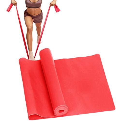 Bandas De Resistencia Cintas Elasticas Musculacion Banda elástica Gimnasio Bandas Bandas de Yoga Equipo de Ejercicio para el hogar Red,-