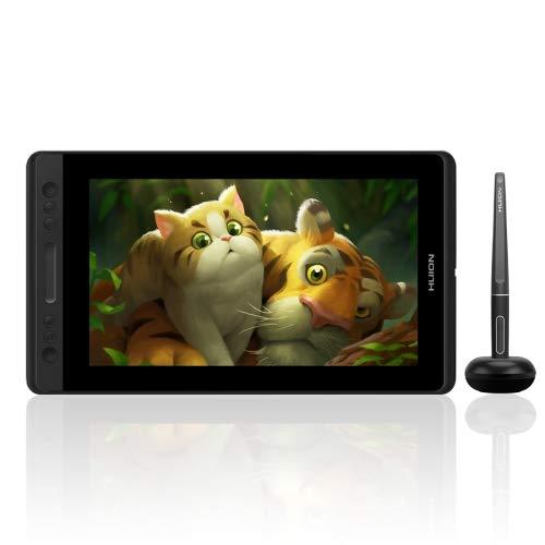 Generic HUION Kamvas Series GT-133 13,3 pulgadas 5080LPI Graphics Drawing Tablet Digital Display for Windows/Mac OS, with Digital Pen