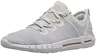 Under Armour Women's HOVR SLK Sneaker, Ghost Gray (105)/Washed Blue, 7.5